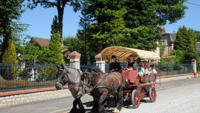 Bagnoles Orne Caleche Balade Cheval Belle Epoque Famille Decouverte Visite