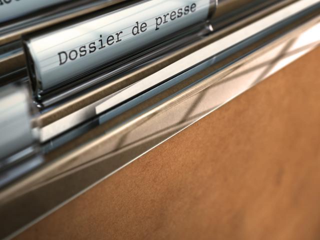 dossier de presse - marketing et communication média