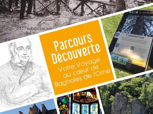 Bagnoles Orne Livret Parcours Decouverte Famille Circuit Balade 2020