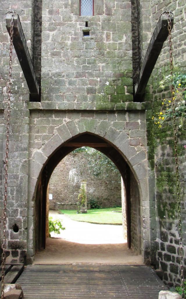 Pont Levis Rouvert