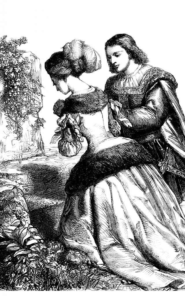 Stich, Abbildung, gravure, engraving from Dupré : 1857